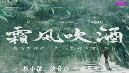 Shuang Feng Chui Jiu 霜风吹酒 The Frost Wind Wine Lyrics 歌詞 With Pinyin By Chen Xiao Xian 辰小弦 Xi Yin She 汐音社 TheSeaing