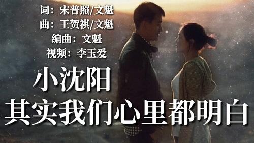 Qi Shi Wo Men Xin Li Dou Ming Bai 其实我们心里都明白 We All Know That Lyrics 歌詞 With Pinyin By Xiao Shen Yang 小沈阳 Shen He