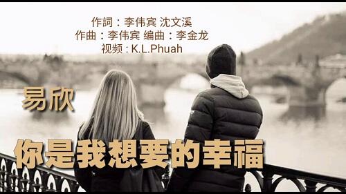 Ni Shi Wo Xiang Yao De Xing Fu 你是我想要的幸福 You Are The Happiness I Want Lyrics 歌詞 With Pinyin By Yi Xin 易欣