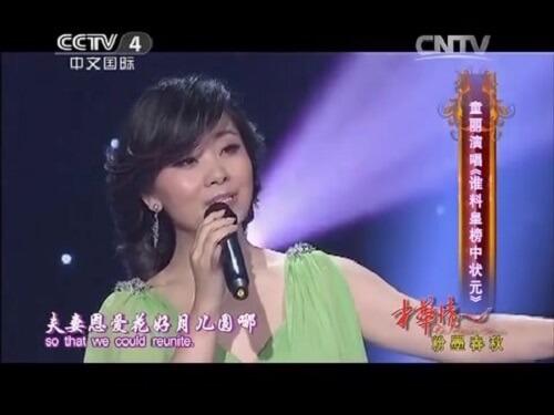 Shui Liao Huang Bang Zhong Zhuang Yuan 谁料皇榜中状元 Who Is Number One In The List Lyrics 歌詞 With Pinyin