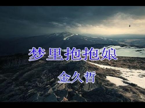 Meng Li Bao Bao Niang 梦里抱抱娘 Hug Your Mother In Your Dream Lyrics 歌詞 With Pinyin