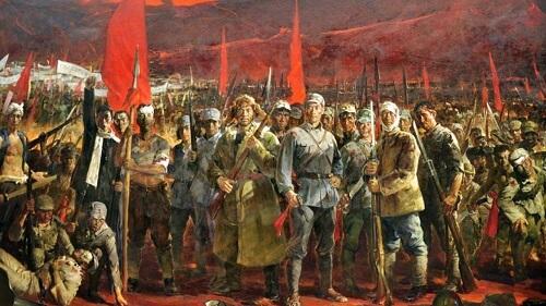 Yi Yong Jun Jin Xing Qu 义勇军进行曲 March Of The Volunteers Lyrics 歌詞 With Pinyin