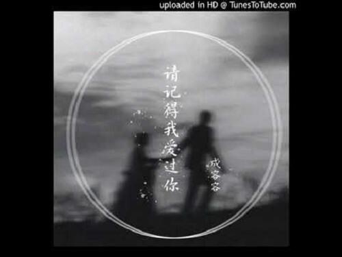 Qing Ji De Wo Ai Guo Ni 请记得我爱过你 Please Remember That I Loved You Lyrics 歌詞 With Pinyin