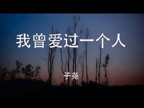 Wo Ceng Ai Guo Yi Ge Ren 我曾爱过一个人 I Loved Someone Once Lyrics 歌詞 With Pinyin