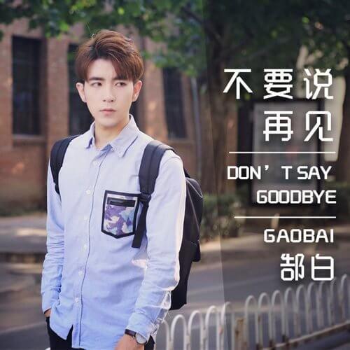 Bu Yao Shuo Zai Jian 不要说再见 Don't Say Goodbye Lyrics 歌詞 With Pinyin