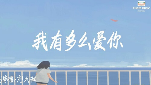 Wo You Duo Me Ai Ni 我有多么爱你 How Much I Love You Lyrics 歌詞 With Pinyin