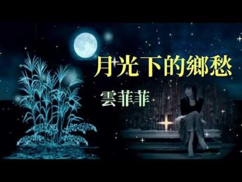 Yue Guang Xia De Xiang Chou 月光下的乡愁 Homesickness In The Moonlight Lyrics 歌詞 With Pinyin
