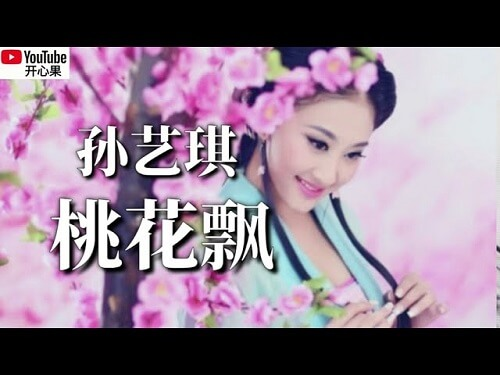 Tao Hua Piao 桃花飘 Peach Blossom Floating Lyrics 歌詞 With Pinyin