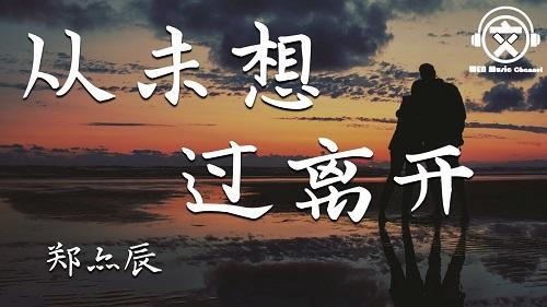 Cong Wei Xiang Guo Li Kai 从未想过离开 Never Thought Of Leaving Lyrics 歌詞 With Pinyin