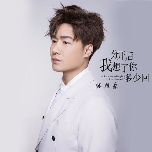 Fen Kai Hou Wo Xiang Le Ni Duo Shao Hui 分开后我想了你多少回 How Many Times Did I Think Of You After We Parted Lyrics 歌詞 With Pinyin