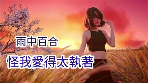 Guai Wo Ai De Tai Zhi Zhuo 怪我爱的太执着 Blame I Love Too Persistent Lyrics 歌詞 With Pinyin