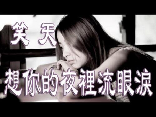 Xiang Ni De Ye Li Liu Yan Lei 想你的夜里流眼泪 I Cry When I Think Of You Lyrics 歌詞 With Pinyin