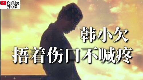 Wu Zhe Shang Kou Bu Han Teng 捂着伤口不喊疼 Cover The Wound Do Not Cry Pain Lyrics 歌詞 With Pinyin