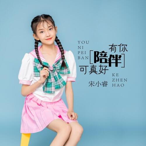 You Ni Pei Ban Ke Zhen Hao 有你陪伴可真好 It's So Nice To Have Your Company Lyrics 歌詞 With Pinyin