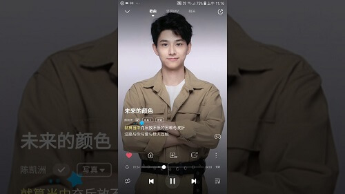 Wei Lai De Yan Se 未来的颜色 Color Of The Future Lyrics 歌詞 With Pinyin