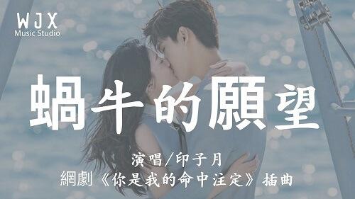 Wo Niu De Yuan Wang 蜗牛的愿望 Snail's Wish Lyrics 歌詞 With Pinyin