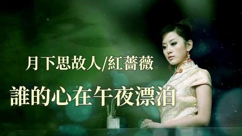 Shui De Xin Zai Wu Ye Piao Bo 谁的心在午夜漂泊 Whose Heart Drifts At Midnight Lyrics 歌詞 With Pinyin