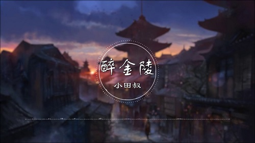 Zui Jin Ling 醉金陵 Drunk Jinling Lyrics 歌詞 With Pinyin