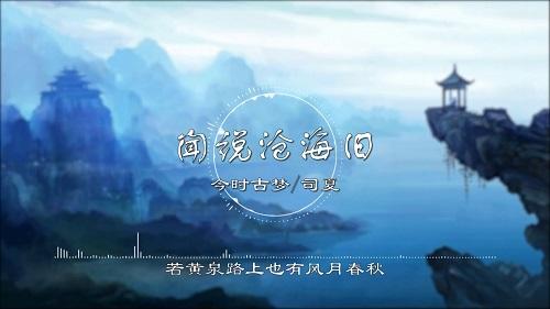 Wen Shuo Cang Hai Jiu 闻说沧海旧 I Hear That The Sea Is Old Lyrics 歌詞 With Pinyin