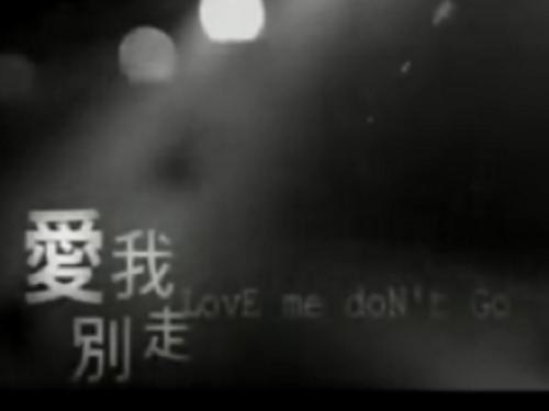 Ai Wo Jiu Bie Zou Le 爱我就别走了 Don't Leave If You Love Me Lyrics 歌詞 With Pinyin By Bai Xiao Bai 白小白