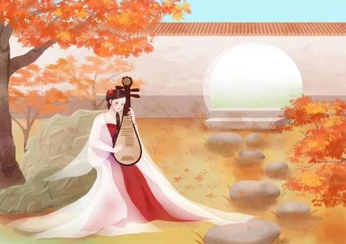 Qiu Hua Luo 秋花络 Autumn Flowers Lyrics 歌詞 With Pinyin By Yi Xian 一弦