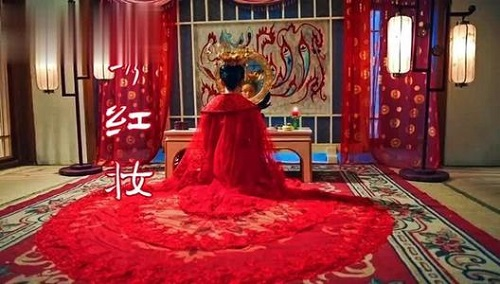 Xiu Hong Zhuang 绣红妆 Embroider Red Makeup Lyrics 歌詞 With Pinyin By Yi Ge Sai Ting 伊格赛听、Xiao Qian 小倩