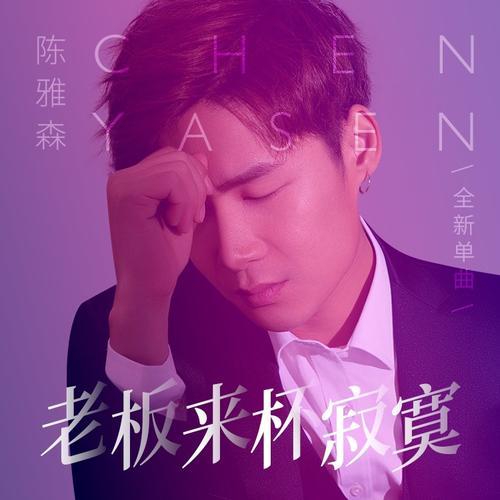 Lao Ban Lai Be Ji Mo 老板来杯寂寞 A Cup Of Loneliness, Boss Lyrics 歌詞 With Pinyin By Chen Ya Sen 陈雅森