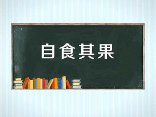 Zi Shi Qi Guo 自食其果 Reap What One Has Sown Lyrics 歌詞 With Pinyin By Xiao Gao Ge 小高哥