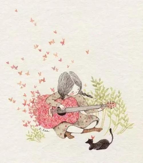 Shi Hua Gu Niang 诗画姑娘 A Girl Of Poetry And Painting Lyrics 歌詞 With Pinyin By Ban Dun Xiong Di 半吨兄弟 Half Ton Brother