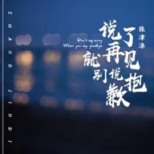 Shuo Le Zai Jian Jiu Bie Shuo Bao Qian 说了再见就别说抱歉 Don't Say Sorry When You Say Goodbye Lyrics 歌詞 With Pinyin By Zhang Jin Di 张津涤