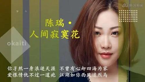 Ren Jian Ji Mo Hua 人间寂寞花 Lonely Flower In The World Lyrics 歌詞 With Pinyin By Chen Rui 陈瑞 Chen Rui