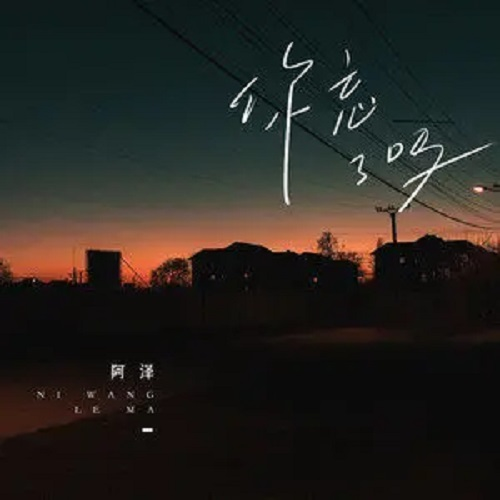 Ni Wang Le Ma 你忘了吗 Did You Forget Lyrics 歌詞 With Pinyin By A Ze 阿泽