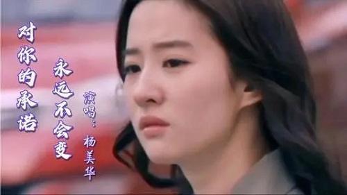 Dui Ni De Cheng Nuo Yong Yuan Bu Hui Bian 对你的承诺永远不会变 The Promise To You Will Never Change Lyrics 歌詞 With Pinyin By Yang Mei Hua 杨美华