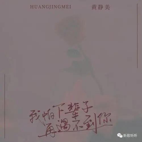 Wo Pa Xia Bei Zi Yu Bu Dao Ni 我怕下辈子再遇不到你 I'm Afraid I'll Never See You Again In My Next Life Lyrics 歌詞 With Pinyin By Huang Jing Mei 黄静美