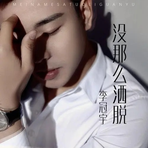Mei Na Me Sa Tuo 没那么洒脱 Not So Free And Easy Lyrics 歌詞 With Pinyin By Li Guan Yu 李冠宇