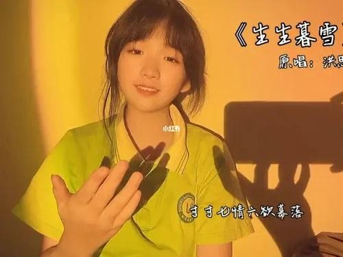 Sheng Sheng Mu Xue 生生暮雪 Snow At Dusk Lyrics 歌詞 With Pinyin By Hong Si Yu 洪思雨